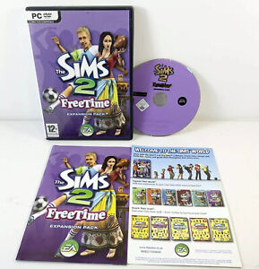 The Sims 2 Free Time Expansion Pack for PC DVD Rom Complete
