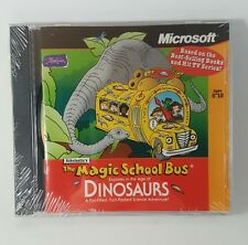Microsoft The Magic School Bus Explores the Age of Dinosaurs PC - Cd-Rom game