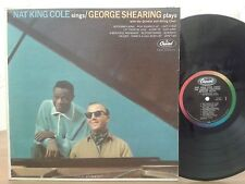 Nat King Cole Sings George Shearing Plays,Capitol W1675,Vinyl Jazz RARE