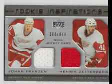 2005-06 Upper Deck Rookie Update #229 Ryan Whitney Johan Franzen Henrik