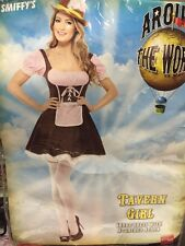 Tavern Girl Costume, Fancy Dress Size Small 6-8