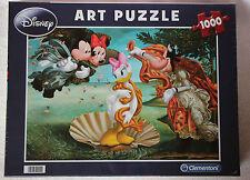 CLEMENTONI Puzzle art DISNEY 1000 pièces Daisy Mickey Minnie Dingo sous blister