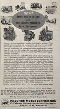1958 AD(XF1)~WISCONSIN MOTOR CORP. MILW., WIS. POWERED FARM EQUIPMENT