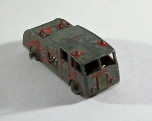 Vintage Beneros Fire Truck Made In England Hard to Find Engine Toy C12