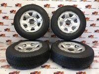 MITSUBISHI L200 K74 steel wheels with Maxxis Bravo /Goodyear wrangler 205 R16c