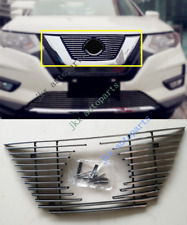 Chrome Front Bumper Upper Grille Vent Hood Grill For Nissan Rogue XTrail 2017