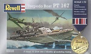 Revell 00026 Torpedoboat PT-167,  Schiffsbausatz1:72, Limited Edition