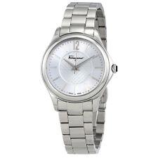 Ferragamo Time Silver Dial Ladies Watch FFV040016