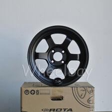 ROTA WHEEL GRID V 15X7 20 4X100 FLAT BLACK