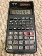 CASIO fx-115s VPAM Scientific Two Way Power Solar Calculator Flip Cover, Battery