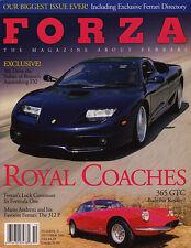Forza Magazine Oct 2001 #32 - Ferrari FX, Barbara Hutton's 365 GTC