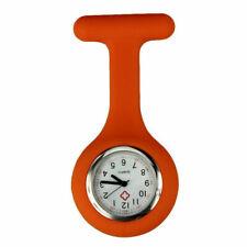 Silicone Nurse Watch Brooch Tunic Fob Nursing Nurses Pendant Clip Pocket Battery