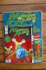 BD + figurine Mauvais Aliens N°1 - Attakus collection - Neuf