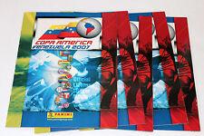 RARE: Panini COPA AMERICA VENEZUELA 2007 - 5 x LEERALBUM EMPTY ALBUM NOT MINT!