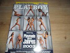 Playboy (D) 12 Dezember 2003 CARMEN ELECTRA Nadia Cherif Kalender Sammlung