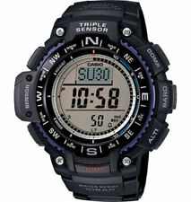 Casio SGW1000-1A, Compass, Thermometer, Altimeter, 5 Alarms, World Time NWT