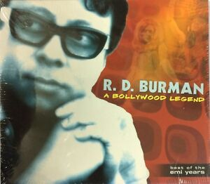 R.D.Burman A Bollywood Legend Pack Of 2 CD's Rare New Sealed Pack Music Audio CD