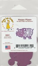 Cheery / Lynn/ Metal / Cutting Die / B561/ Happy Hippo / Smile