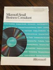 Vintage Microsoft Computer Software - Small Business Consultant