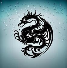 Sticker decal vinyl car bike laptop macbook bumper chinese dragon tattoo