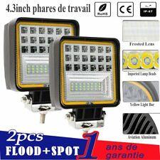 PHARE FEUX DE TRAVAIL PROJECTEUR LED 12V SPOT 24W TOIT 4X4 POUR NISSAN PATROL