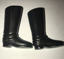 "ELITE BRIGADE COTSWOLD Tall Black Calvary Boots 12"" Gi Joe Figures"