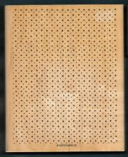 HASH TAGS DOTS Design X-LARGE BACKGROUND STAMPIN' UP! wood mount XL RUBBER STAMP