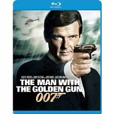 The Man with the Golden Gun Blu-ray NEW James Bond 007 Roger Moore OOP