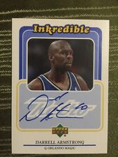 1999-00 Upper Deck Retro Inkredible Darrel Armstrong #DA