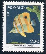 STAMP / TIMBRE DE MONACO N° 1616 ** FAUNE / POISSON / CHELMON ROSTRATUS