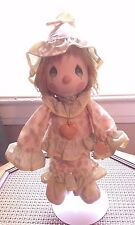 1985 Precious Moments Boy Clown Doll Last Forever by Applause With Stand