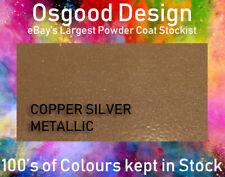 COPPER SILVER METALLIC 1kg Powder Coat Coating Refurbishishment Alloy Wheel