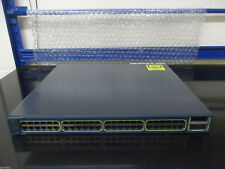 Cisco Catalyst 3560E-TD   WS-C3560E-48TD-S 48 Port Gig Switch + 2 X2 10 G port