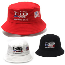President Donald TRUMP 2020 Bucket Hat MAGA Keep America Great Again Embroidered