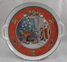 Villeroy & et boch christmas at foxwood tales plateau avec poignées 32cm
