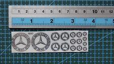 1/18 1/12 1/24 1/43 chrome(metal) decals Benz 4847