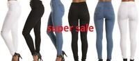 Brand new Ladies High Waisted Skinny stretchy Jeans Jeggings Pants: UK 4- UK 16