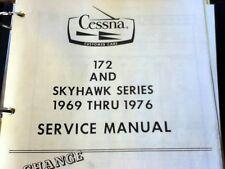 1969  - 1976  Cessna 172 & Skyhawk   Service Manual