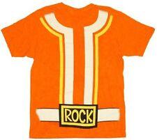 Adult Music TV Show Yo Gabba Gabba! DJ Lance Orange Rock Costume T-Shirt Tee