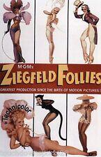 Ziegfeld Follies Vintage Americana Burlesque Dancers Ad CANVAS Print 11x17 037