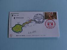 WWII FDC #41 Fall of Corregidor Philippines Wainwright * 50th Anniversary