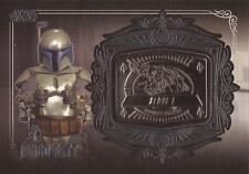 "Star Wars Galactic Files 2 - MD-8 Jango Fett ""Slave I"" Medallion Card"
