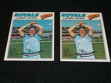 Kansas City Royals Larry Gura Auto Signed 1977 Topps Card #193  TOUGH  N