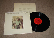 PAUL SIMON STILL CRAZY AFTER ALL THESE YEARS LP RECORD STERLING MASTER VG+
