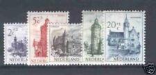 Nederland 568-572  Kerken zomerserie 1951  luxe postfris
