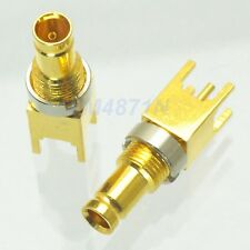 1pce Connector mini-SDI HD DIN 1.0/2.3 female jack solder PCB mount 5.08mm