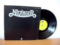 """NITZINGER """"First Album"""" original Japanese pressing LP 1972 (CAPITOL ECP-80697)"""