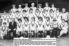 AIRDRIE FOOTBALL TEAM PHOTO>1980-81 SEASON