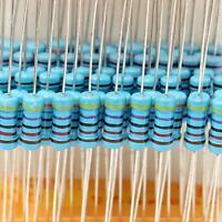 1000pcs +/-1% 1W 100 Values  Metal Film Resistor Assorted Kit (1 ohm~ 1M ohm) !