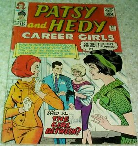 Patsy and Hedy 97, (FN+ 6.5) 1964 Paper Dolls! 40% off Guide!